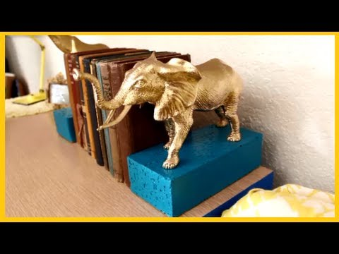 DIY: How to make Book Ends/ Stopers Awesome Project