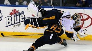 NHL Goalies Getting Hit Part 3