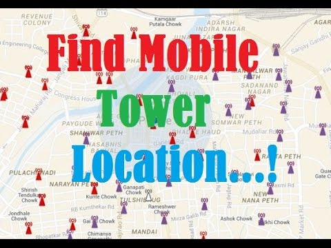 Find Location of your mobile tower(No root)