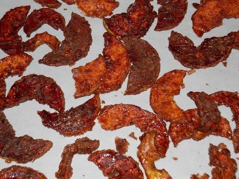 Cinnamon Sugar Apple Chips on the Dehydrator