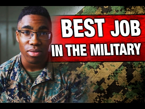 How to get the BEST Job in the Military