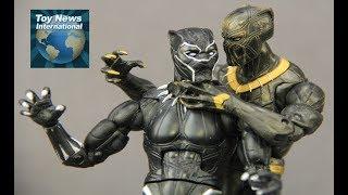 "Black Panther Movie 6"" Marvel Legends Erik Killmonger Figure Review"