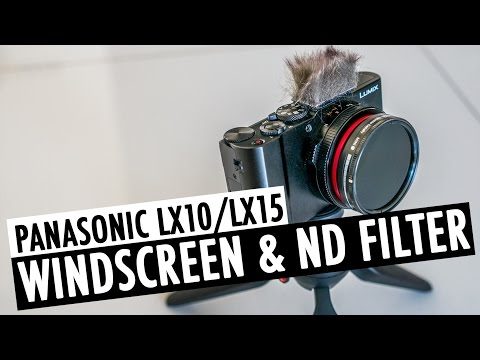 How To Put a Windscreen & ND Filter on the Panasonic LX10/LX15 | RehaAlev