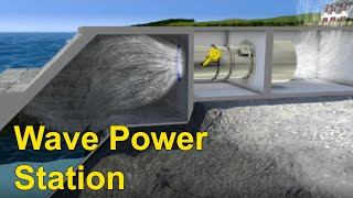 Ocean Energy -  Wave Power Station