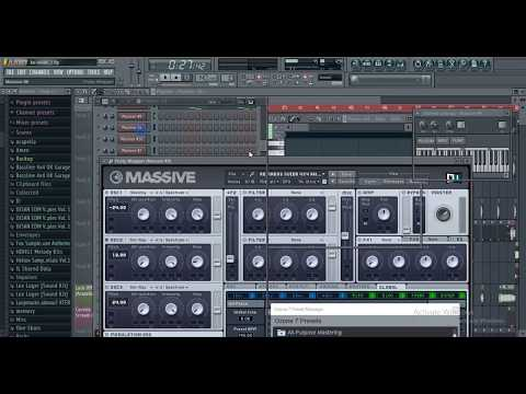 How To Make Sick Bassline, Garage, 4x4, UK BASS Music In Under 10 Mins! (FL STUDIO Tutorial}