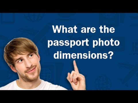 What are the passport photo dimensions? - Q&A