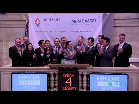 Horizons ETFs Launches Horizons Korea KOSPI 200 ETF