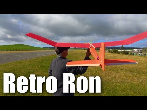 Another old-school RC plane (glider)