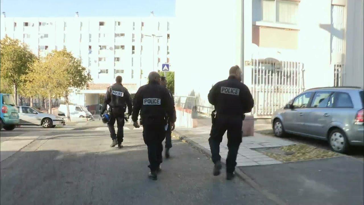 Marseille : Opération descente