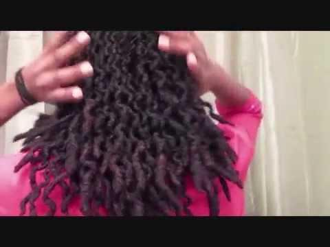 Natural Hair | Wavy Dreadlocks | NiquesOasis