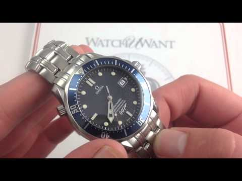 Omega Seamaster Professional 300M James Bond 40th Anniversary Limited Edition Luxury Watch Review