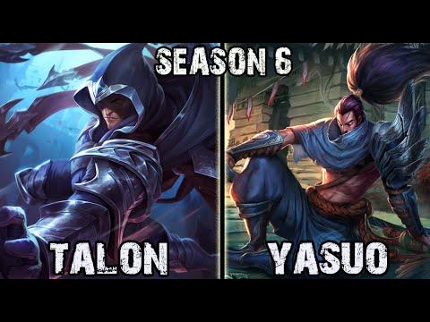 Best Talon Korea vs Yasuo MID Ranked Challenger