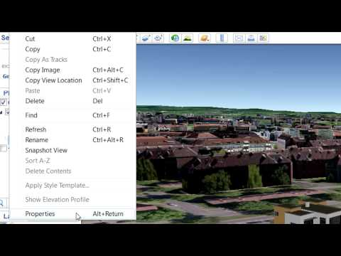 Importing a Google Earth 3D model into ARCHICAD