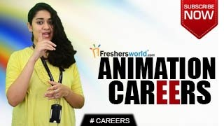 CAREERS IN ANIMATION –  Certification Course,Degree,2D,3D, Animation studio,Salary Package