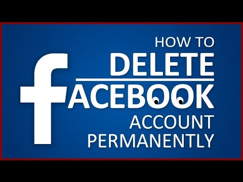 how to delete fb account forever permanently
