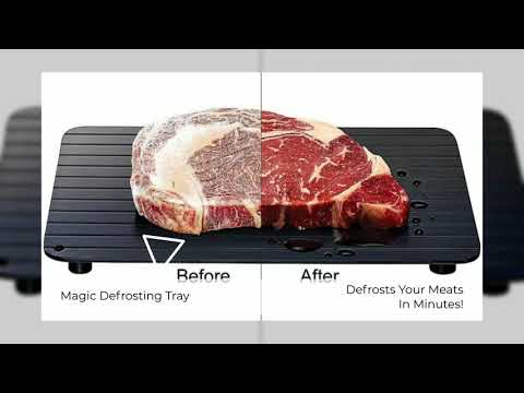 defrost tray video ad
