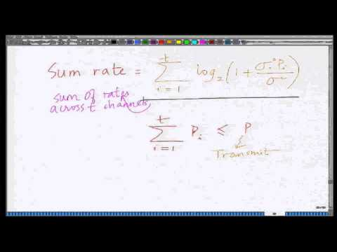 Lecture 43: Capacity of MIMO Wireless Systems