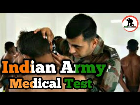Indian Army medical test full information in hindi..