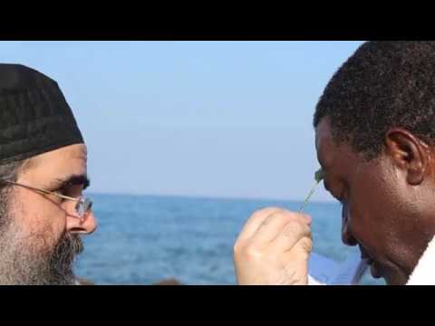 African King from Ivory Coast receives Orthodoxy at Mount Athos
