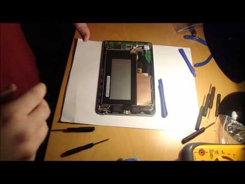 Replace LCD & Touch Screen on 1st Gen 2012 ASUS Nexus 7