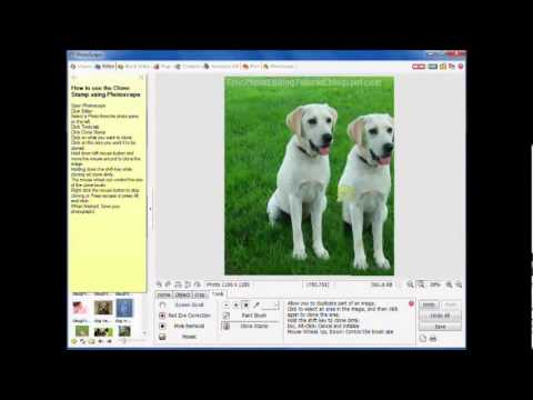 How To Copy or Clone Images Using Photoscape