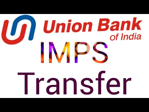 How to Transfer Money imps Union bank of India ?