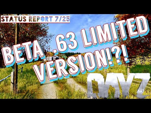 BETA Trial Version? - Dayz Standalone .63 Status Report + Combat Animations