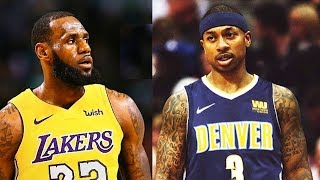 LeBron James Trades Isaiah Thomas To Nuggets After Joining Lakers (Parody)