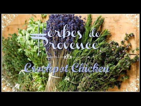 Herbes de Provence Crockpot Chicken~