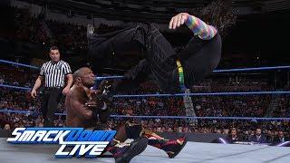 Jeff Hardy vs. Shelton Benjamin: SmackDown LIVE, Aug. 14, 2018