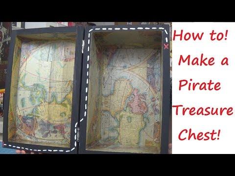 TUTORIAL!: Pirate Treasure Chest!   Sewing Nerd!