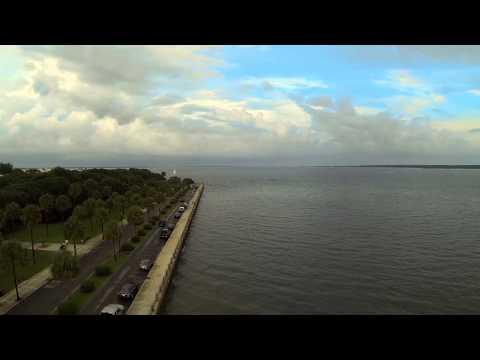 Charleston South Carolina Flyover