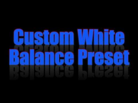 Nikon D750 Custom White Balance