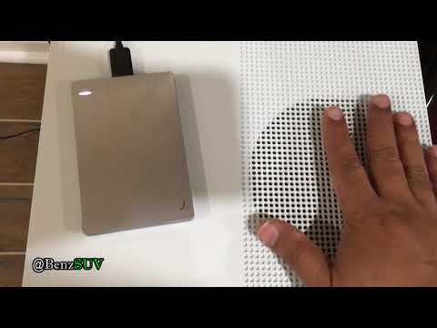 DIY - Add storage to your xBOX One S - seagate external drive install