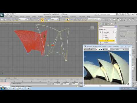 3Ds Max Sydney Opera House Modeling Tutorial 2