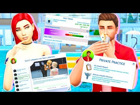 10 MODS FOR REALISTIC GAMEPLAY! // THE SIMS 4
