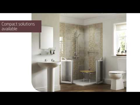 Walk-In Showers for disabled and elderly by Mobility Plus Bathing