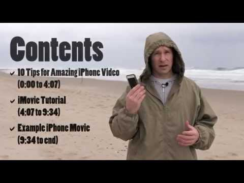 How to Shoot Great iPhone Video and Edit it in iMovie