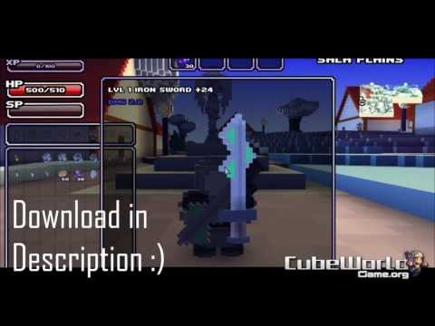 Cube World - multiplayer gameplay (+download) 2013