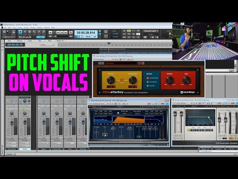 Pitch Shifting Vocals - Reverb, Harmonies, & Octaves