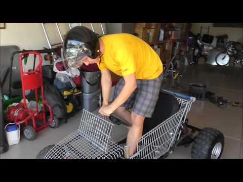 Blue Light Special Shopping Cart - Go Kart 02 23 16