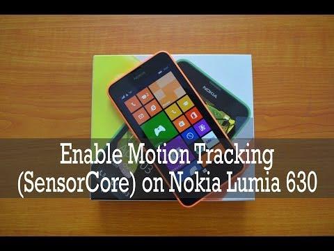 How to Enable Motion Data (SensorCore) on Nokia Lumia 630