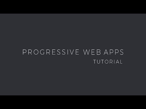 Progressive Web App tutorial – learn to build a PWA from scratch