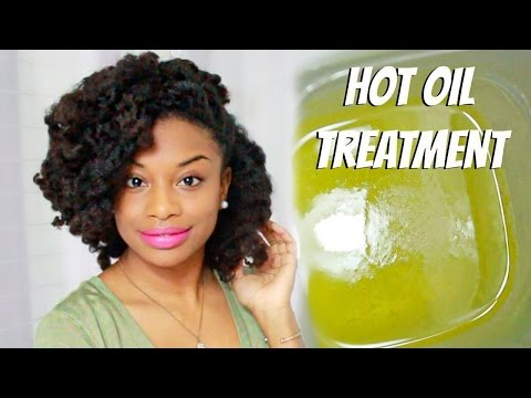 Do It Yourself | Hot Oil Treatment For Dry and Frizzy Natural Hair