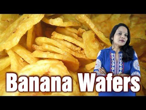 Banana Wafers   How to make crispy banana chips