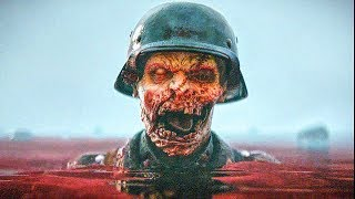 CALL OF DUTY WW2 Zombies The Darkest Shore Gameplay Walkthrough [1080p HD PS4] - No Commentary