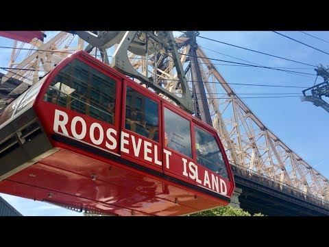 NYC Roosevelt Island Tramway and Grand Central Terminal