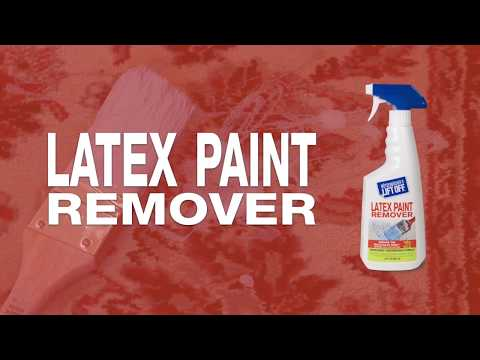 How to Remove Paint & Paint Spills