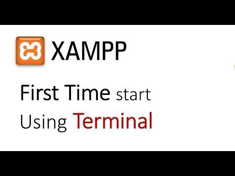 How to start Xampp Server on Ubuntu using Terminal First time