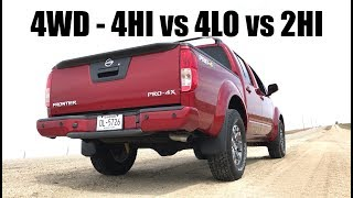 How 4WD Works — 4Hi vs 4Lo vs 2Hi — Acceleration Testing